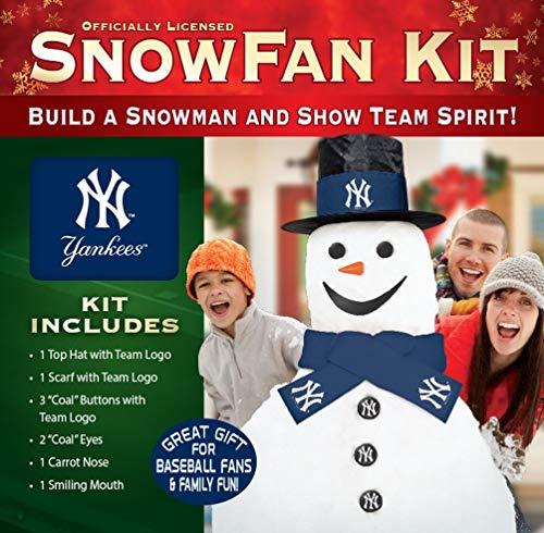 MLB New York Yankees Snowfan Snowman Kit