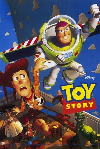 Toy Story Movie Poster (27 x 40 Inches - 69cm x 102cm) (1995) Style D -(Tom Hanks)(Tim Allen)(Annie Potts)(John Ratzenberger)(Wallace Shawn)(Jim Varney)