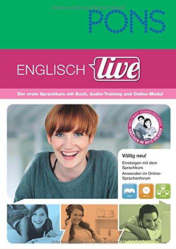 PONS Sprachkurs Englisch live: Erfolgreich lernen - sofort loslegen! 1 Buch und 1 MP3-CD