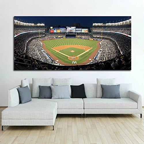 Poster Mural NY Yankee Stadium Baseball 40x87 in (100x218 cm) 8mil paper