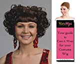 Curly Clip Cutsey Color Auburn - Enigma Wigs Women's Clipped In Hair with Bangs Bundle with Wig Cap, MaxWigs Costume Wig Care Guide