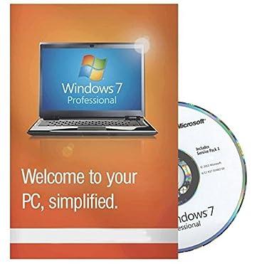 Windows 7 Professional 64 Bit MAR Refurbisched Hologramm incl  Servicepack  1 English UK