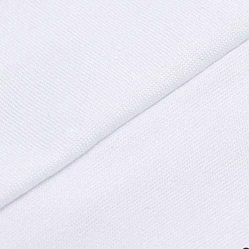 10 pi/èce de Salle /à Manger Couverture Couleur Unie Polyester Spandex Blanc.Universelle Extensible pour de Mariage///à Domicile D/écoration en Forme darc Acelectronic/® Housse de Chaise Blanc