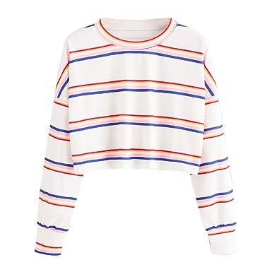 hot sale online fe4bd 780e8 Sweatshirts Hoodies Damen Locker Oberteil Hemd Pullover ...