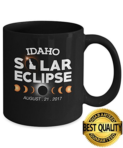 Best Quality  Circle Total Solar Eclipse Idaho Mug  August 21 2017  11 Ounces Sized  By Stormcool