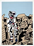 Rare Posters Prints, Jean Dubuffet-Simulacra's 1974 Serigraph