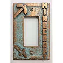 Minecraft - Decorator Switch/Outlet Cover (Aged Patina)