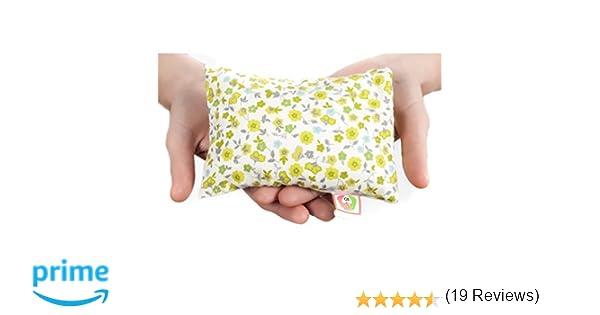 ✿ COJÍN ANTICÓLICOS PARA BEBÉ ✿ 15x10 cm Almohada Saco Térmico de Semillas para Microondas Tela de Algodón 100% Hecho a Mano ➤ST10: Amazon.es: Handmade