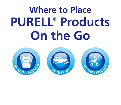 PURELL Advanced Instant Hand Sanitizer Travel Sized Jelly Wrap Portable Sanitizer Bottles Scented