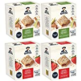 Quaker Baked Squares, Soft Baked Bars, Apple Cinnamon & Strawberry, 5 Bars (Pack of 4) ( Packaging May Vary )