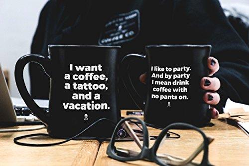 Death Wish Coffee - Diner Coffee Mug Set - 2018 Edition (1 of Each)