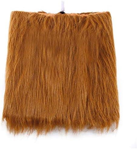Managayle Peluca de león para Disfraz de Animal, Bufanda para el ...