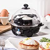 Dash black Rapid 6 Capacity Electric Cooker for