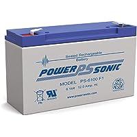Power Sonic 6V 12Amp SLA Battery