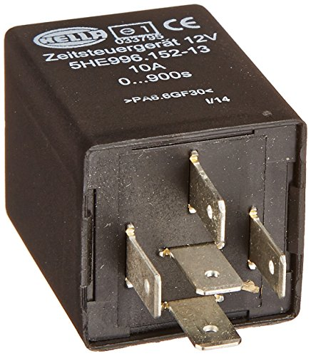 Hella 996152131 12 Volt 5 Pin 0-900s Delay Off Time Contr...