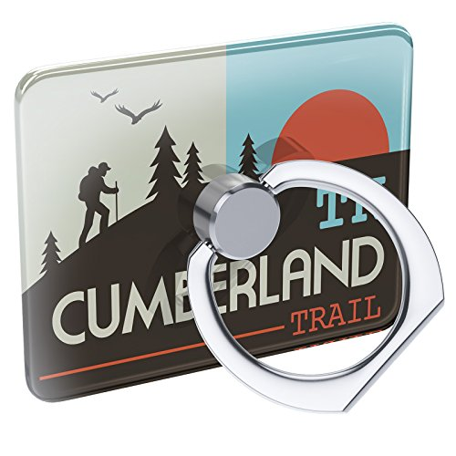 Cell Phone Ring Holder US Hiking Trails Cumberland Trail - Tennessee Collapsible Grip & Stand Neonblond - Cumberland Trail