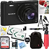 Sony Cyber-shot WX350 Compact Digital Camera with 20x Optical Zoom Black + 32GB - Best Reviews Guide