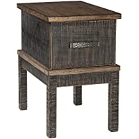 Stanah Chair Side End Table Two-tone/Casual