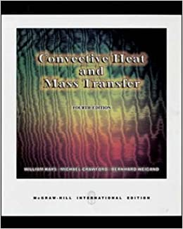 Book Convective Heat and Mass Transfer May 1, 2004