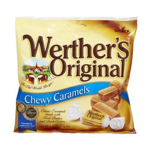 Werther's Original, Chewy Caramels - 5.5 oz (2 Pack) by Werther's