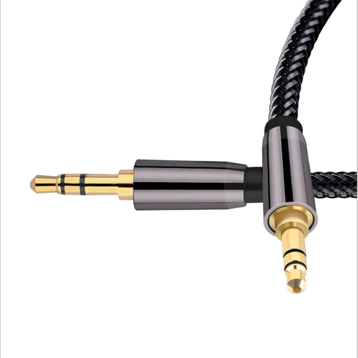 Lamijua 3.5Mm Audio Cable Speaker Line Aux Cable Car Headphone Audio Jack Aux Audio Cable Gold Plated Auxiliary Cable