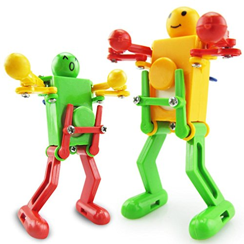 Wind Up 17 Jewels - Iuhan Cool Clockwork Wind Up Dancing Robot Toy for Baby Kids Developmental Gift Puzzle Toys(Color Random) (multicolor)