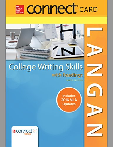 College Writing Skills W Rdgs