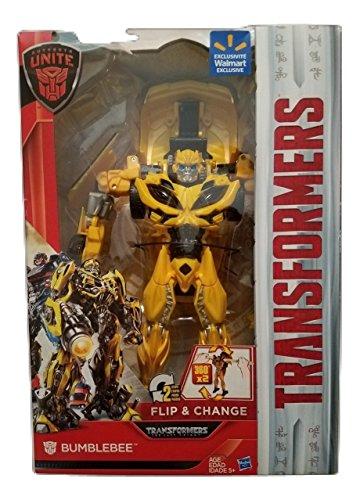 Transformers: The Last Knight Autobots Unite Exclusive 11-inch Flip & Change Autobot Bumblebee (Transformers The Last Knight Toys R Us)