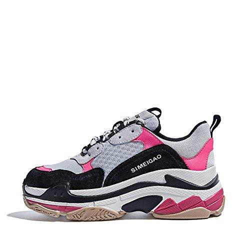 amp;G Calzado Calzado Calzado NGRDX Para Mujer Femenino Pink Mujer Para Casual Deportivo 6SqdO7