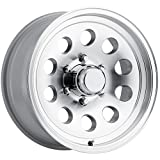 Sendel S20T Silver Wheel with Machined Finish (166''/86.5inches 0mm Offset)