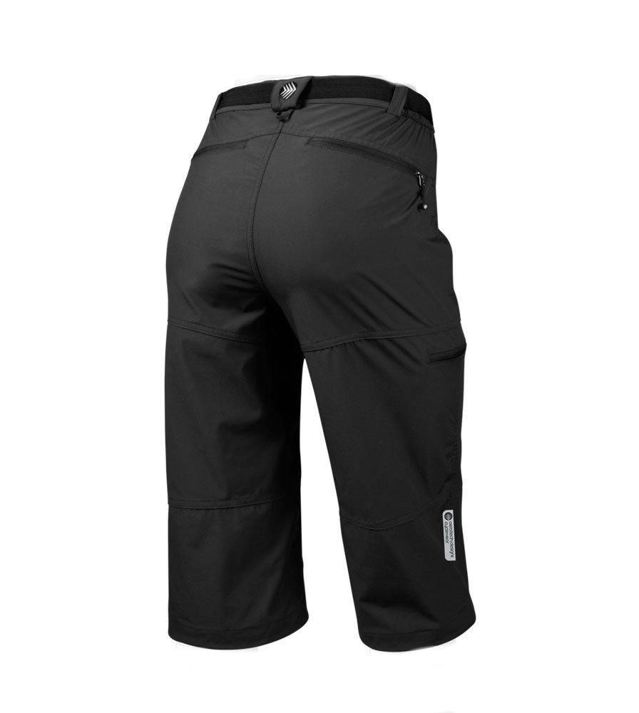 d75f5b42f944e Amazon.com : AERO|TECH|DESIGNS Women's Bicycle Commuter Pedal Pusher Capris  : Cycling Compression Shorts : Clothing
