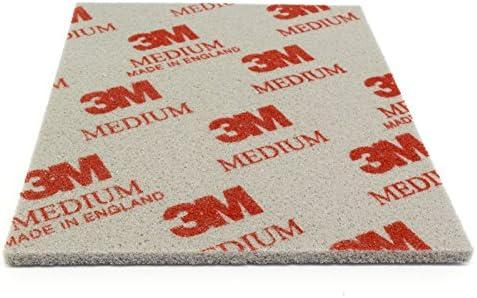 DonDo 3M Soft Pad Schleifpad Schleifschwamm 1 Stück 03808 medium mittel P220-P280 Korn 60