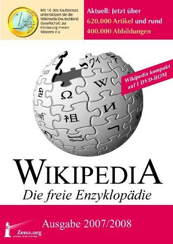 Wikipedia Kompakt - Die freie Enzyklopädie. Ausgabe 2007/2008. DVD-ROM für Windows NT, 2000, XP oder Vista ()