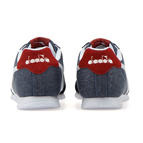 Neck BLUE 60065 Light Low Sneaker Adults' C Diadora DEEP Unisex Jog vSw00q