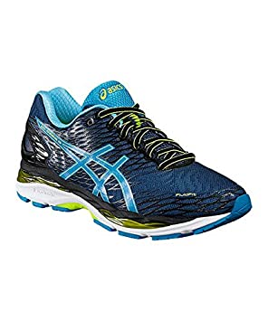 asics nimbus 18 amazon bleu