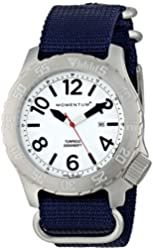 Momentum by St Moritz watch corp Torpedo Watch with Lume Face - Men's