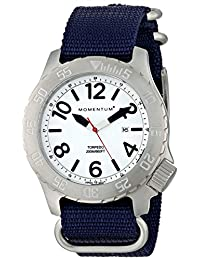 Momentum 1M-DV74L7U Men's Torpedo Sport Wrist Watches, White
