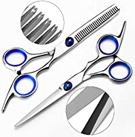 Hair Scissors, Beyond Professional Hair Cutting Kits Thinning Shears Hairdressing Set, Stainless Steel Barber...