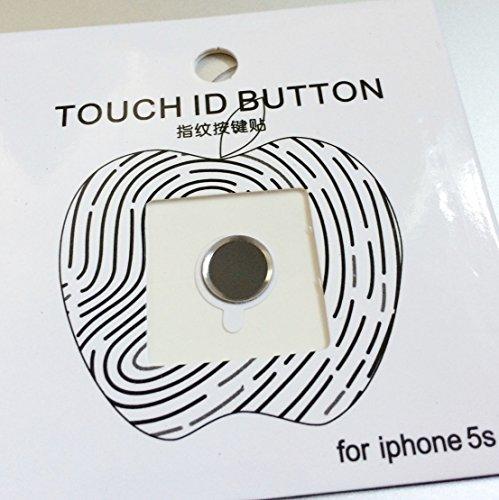 Unrivaled Popular High Quality 1 Pcs iPhone Home Button Sticker for Apple 6 5S 5C 4 4S iPad Mini 2 3 Air Black (Ipad Norton)