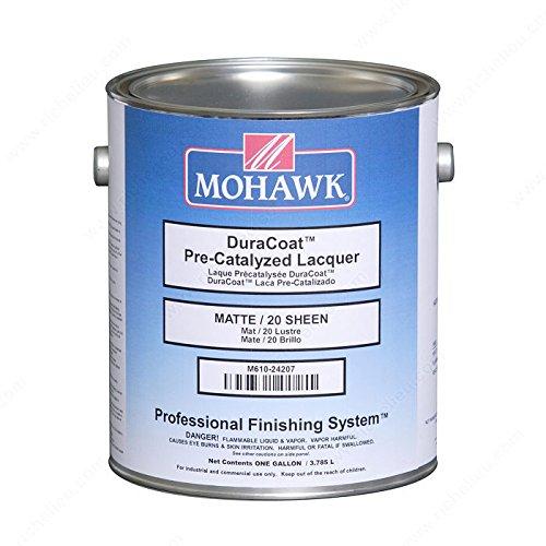 (DuraCoat Pre-Catalyzed Lacquer - M61024407 - Sheen Satin, VOC 550 VOC, Size 1 gal.)