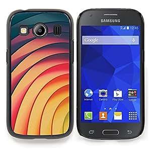 "For Samsung Galaxy Ace Style LTE/ G357 Case , Líneas Vortex modelo amarillo del trullo Rosa"" - Diseño Patrón Teléfono Caso Cubierta Case Bumper Duro Protección Case Cover Funda"