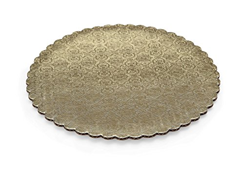 Gold Scalloped - W PACKAGING WPGC12 12