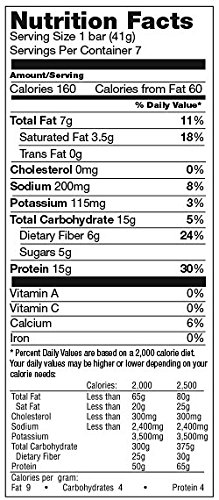Proti Kind Fluffy Nutter Protein Bars, 7 Bars, 15g Protein Per Serving