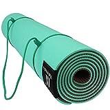 Matymats Yoga Mat - Non Slip, TPE, High Density, Thick...