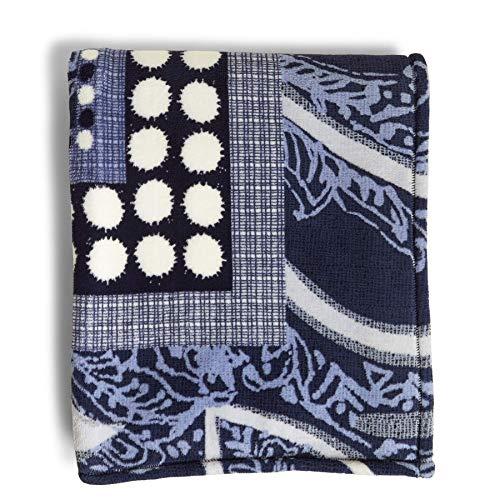 (Vera Bradley Throw Blanket, Fleece, Indio,One size)