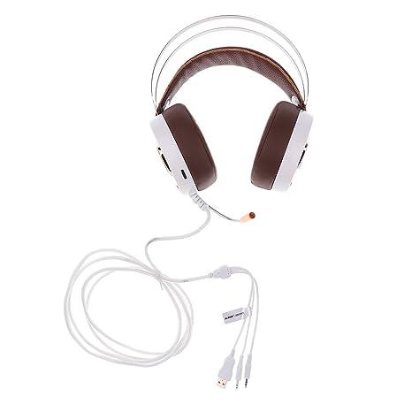 MagiDeal 1 Pieza engancharse Auriculares con micrófono, Accesorios para Ordenador portátil PC Teléfono Móvil –