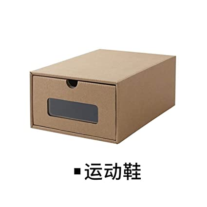 Huyizhi Accesorios de Almacenamiento para el hogar Caja de Zapatos de cajón Grueso Zapatos Transparentes para
