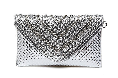 Europe and Tide United Envelope The Package Diamond Hand The Hand Capacity Bag Package States Large Bag Diamonds Bag Color Silver Gold take anq0aIXS