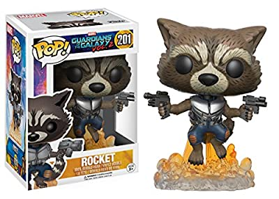 POP Movies: Guardians of the Galaxy 2 Flying Rocket Toy Figure