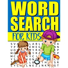 "Word Search For Kids: 50 Easy Large Print Word Find Puzzles for Kids: Jumbo Word Search Puzzle Book (8.5""x11"") with Fun Themes!"